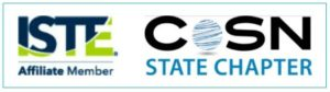 The logos of two national EdTech Organizations - ISTE and CoSN